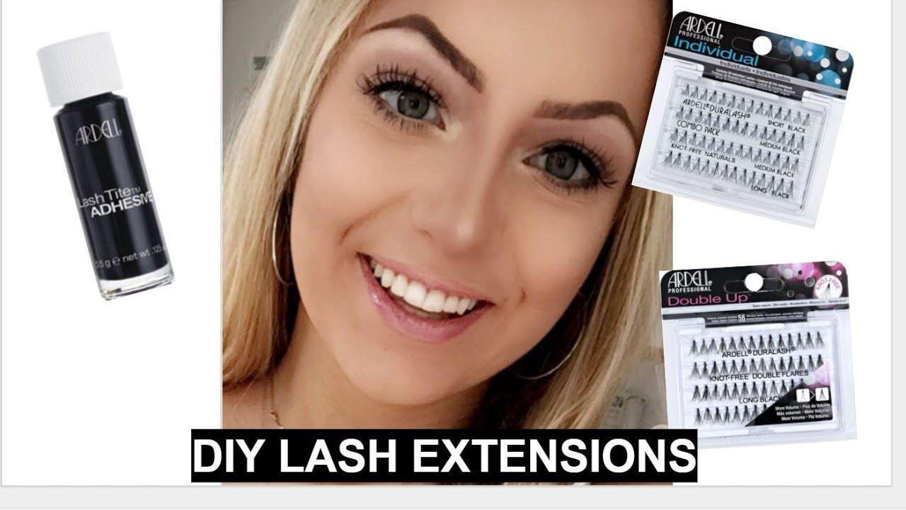 Diy False Lash Extensions Makeup Pinterest False Lashes
