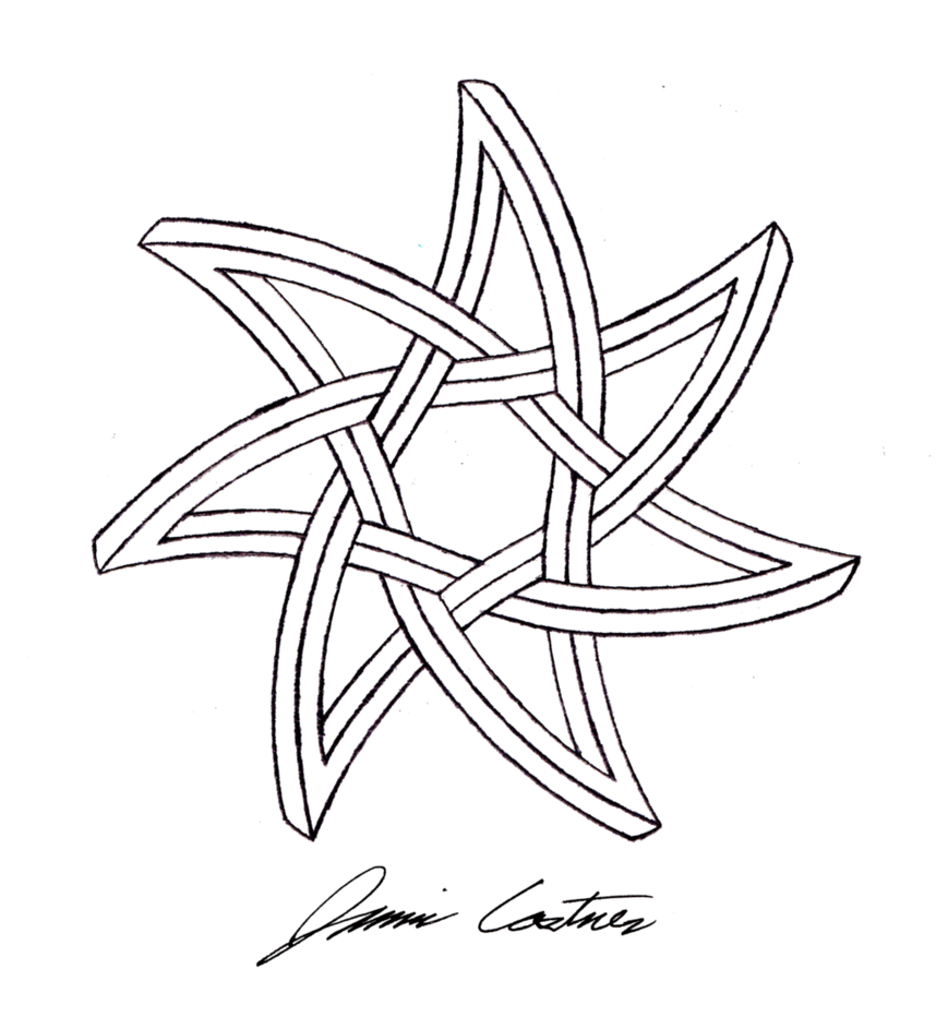 Curved seven pointed impossible star by ~shady333 on deviantART ...