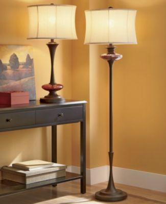 Amber Crackled Glass Floor Lamp Floor Lamp Crackle Glass Glass