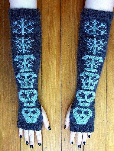 Pirate Punk Knitting Patterns Double Knitting Knit Patterns And