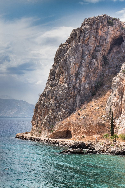 Coastline of Nafplio, Greece
