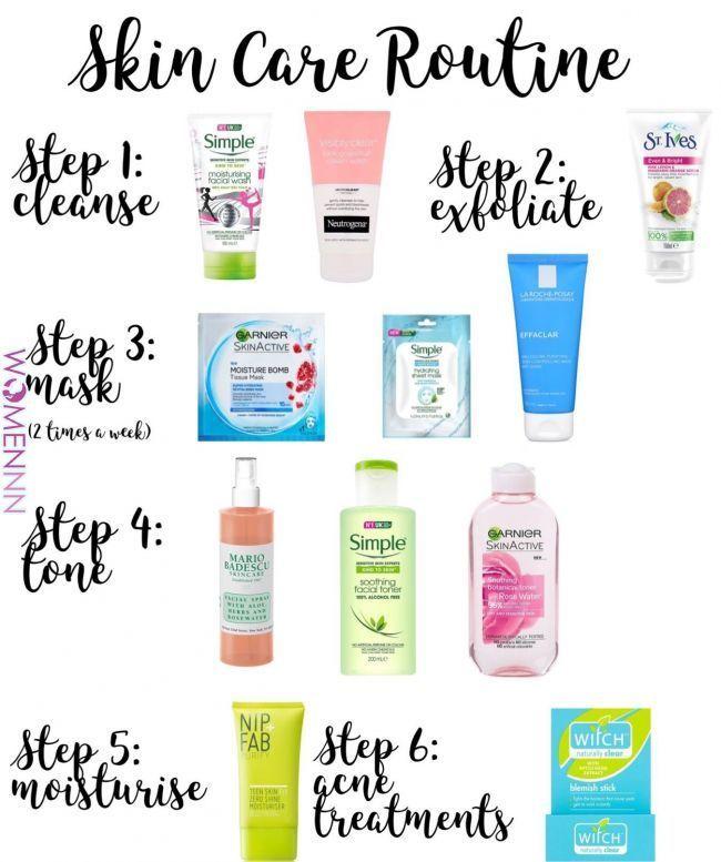 Skin Care Routine Skin Care In 2019 Pinterest Skin Care Healthy Skin Care And Skin Care Tips Skin Care Routine Steps Skin Care Best Skin Care Routine