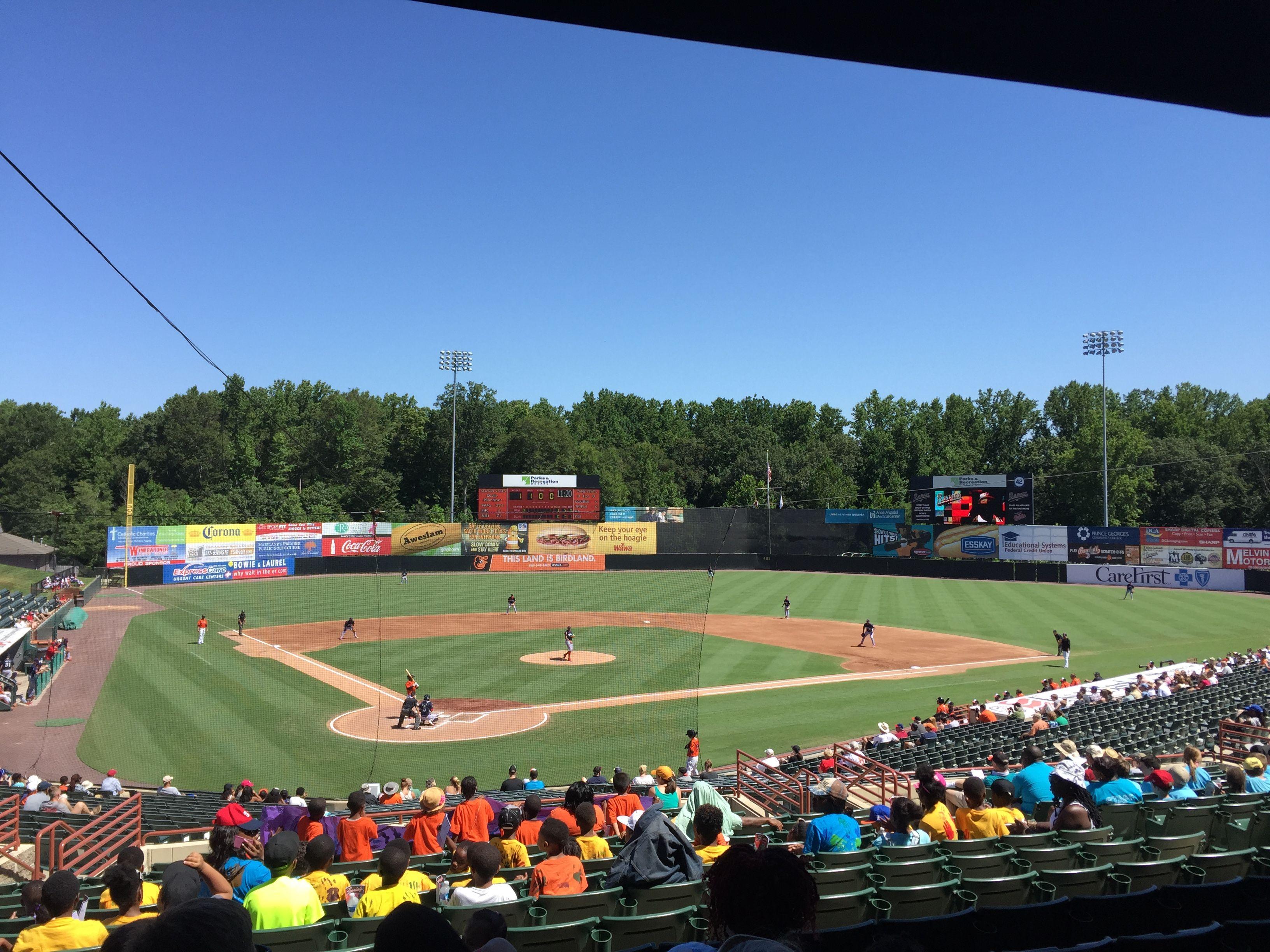 Prince George S Stadium Bowie Baysox Baseball Stadium Stadium Baltimore Orioles