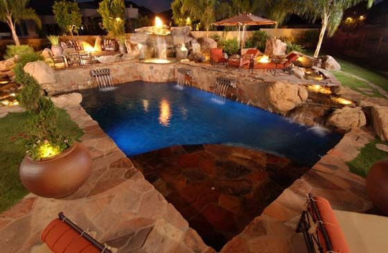 Top Rated Arizona Pool Builder California Pools Landscape Arizona Pool Design Backyard Pool California Pools