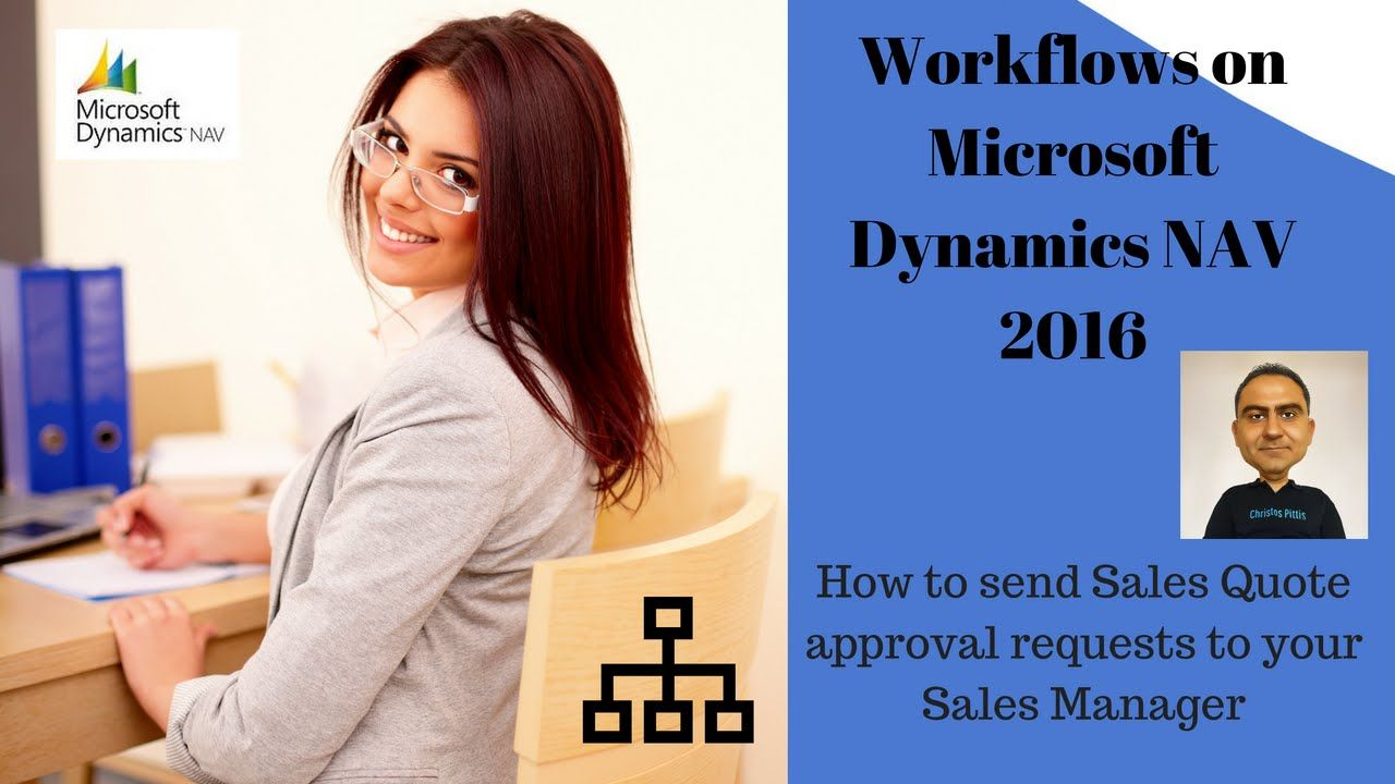 Sales Quote approval requests with Workflows on Microsoft Dynamics NAV 2016