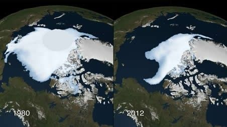 Shrinking Arctic ice and the wicked backlash on our weather