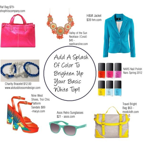 Splash Of Color!, created by lotusblossomdesign on Polyvore