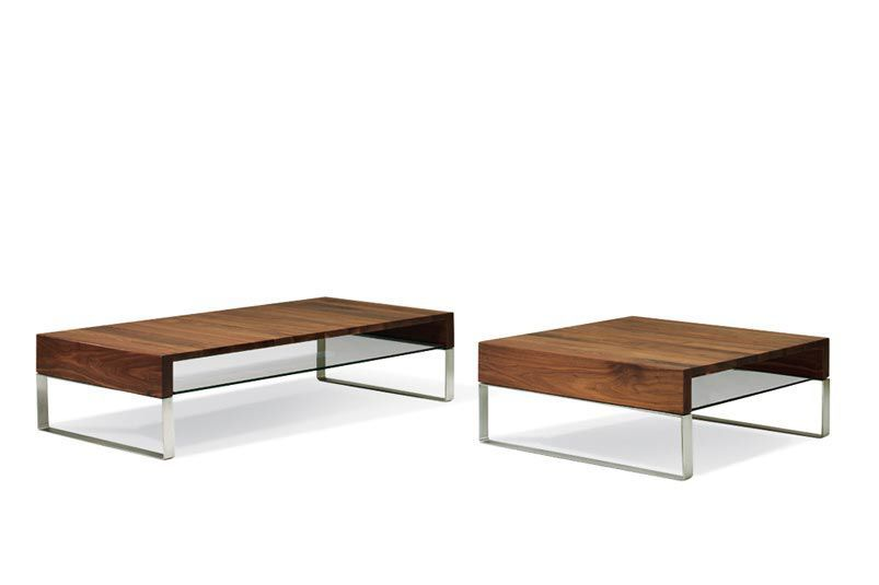 Contemporary wood and metal coffee table - ADITI by Minimal Design ...
