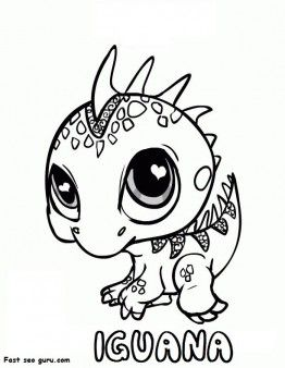 Printable Littlest Pet Shop Iguana Colouring In Page Printable Coloring Pages For Kids Coloring Books Animal Coloring Books Animal Coloring Pages
