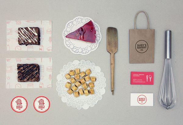 Susy's Bakery by Para Todo Hay Fans, via Behance