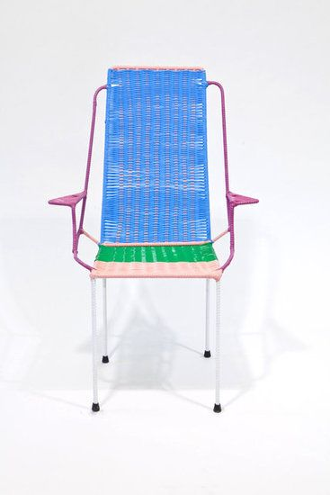 Marni's new line of chairs made by ex-prisoners