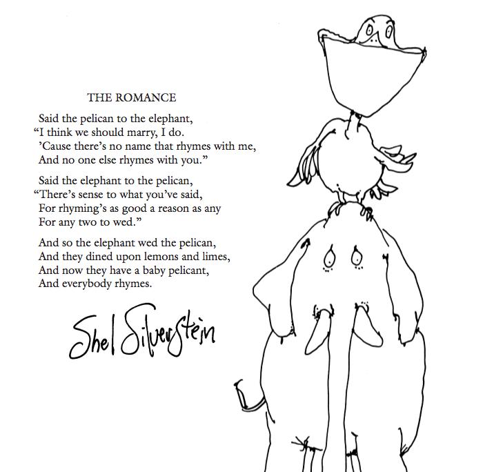My Favourite Shel Silverstein Poem Silverstein Poems Shel Silverstein Poems Shel Silverstein Quotes