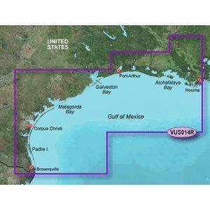 Magellan Mapsend BlueNav XL Chart East Gulf Of Mexico