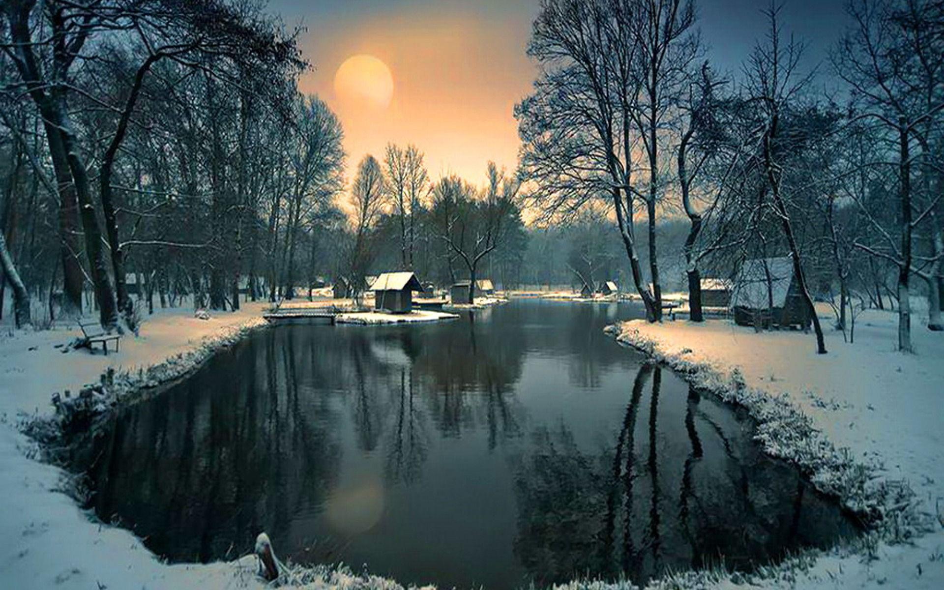Картинки зимние на фото