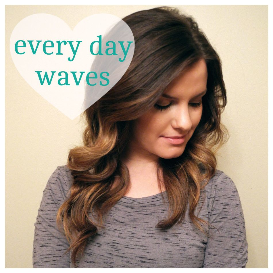 Easy every day waves easy hair makeup and makeup