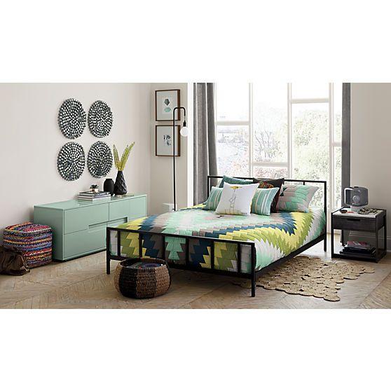 Best Alchemy Matte Black Queen Bed Reviews Modern Bedroom 400 x 300