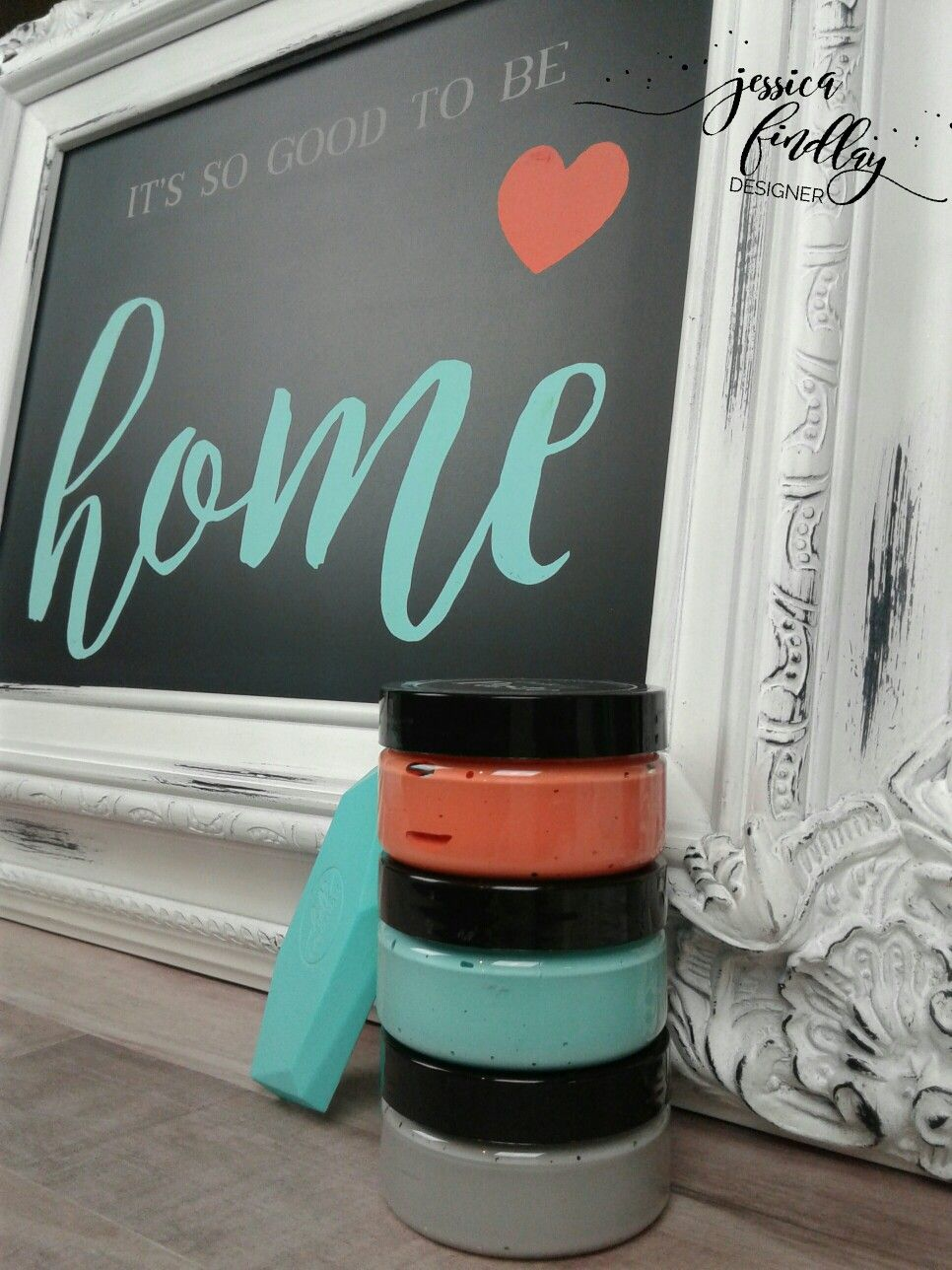 Verity Antique White Chalkboard It S So Good To Be Home Transfer I Love Chalk