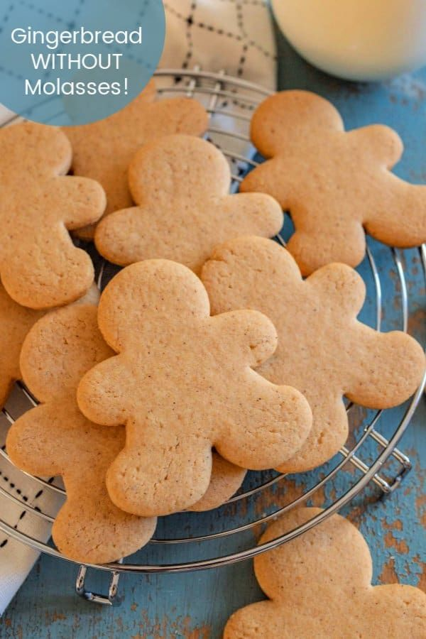 How to Make Perfect Gingerbread Cookies Without Molasses