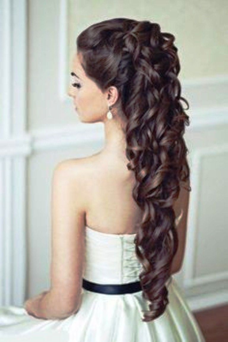 Party Haircuts For Long Hair Jpg 768 1149 Curly Wedding Hair Wedding Hair Down Hair Styles