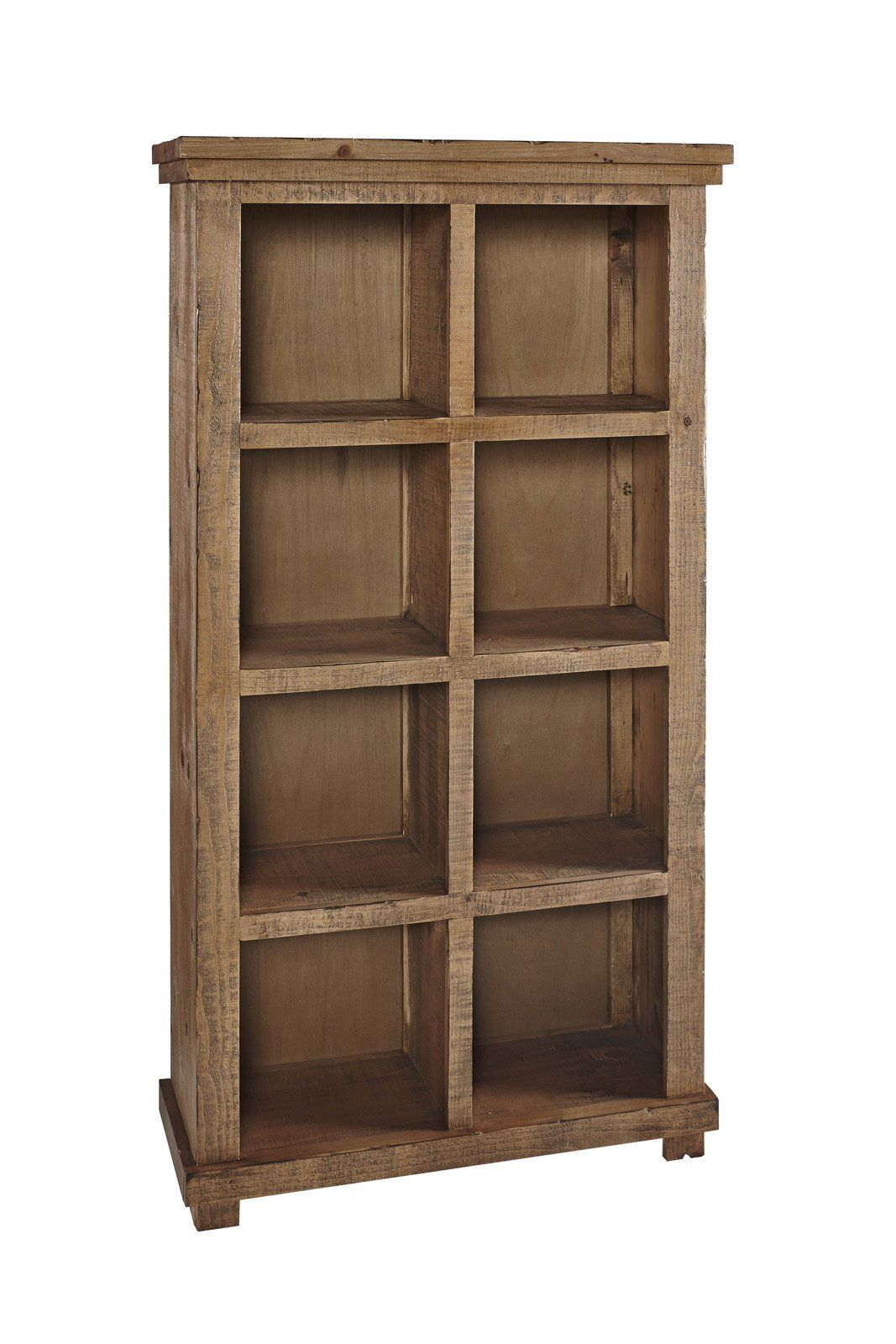 Willow Casual Bookcase 64h Pine Pine Traditional Furniture Wood