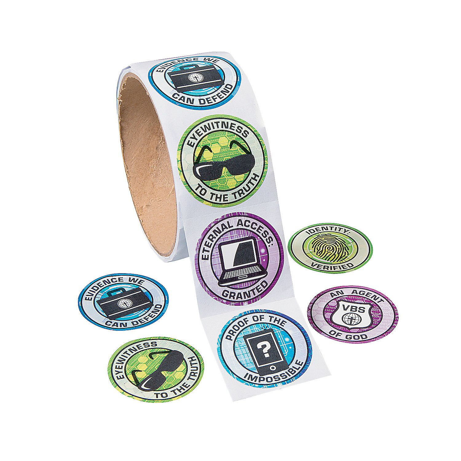 Agents Of Truth Vbs Stickers