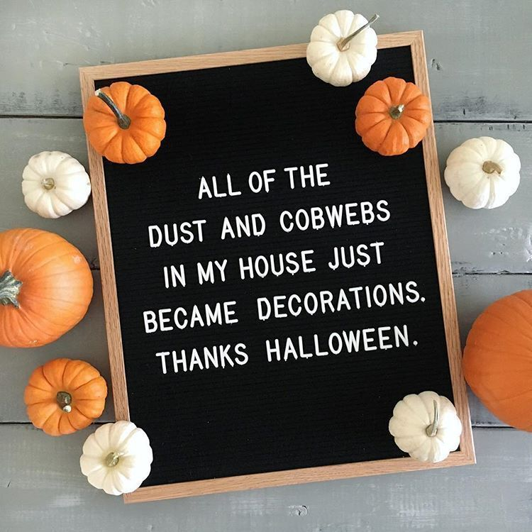 Halloween 2020 Letter 26 Halloween Letter Board Ideas To Get Inspired By   Morgan