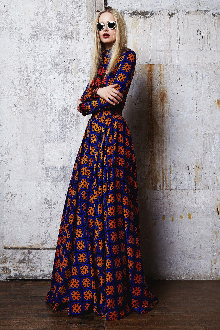 Dresses hippie style