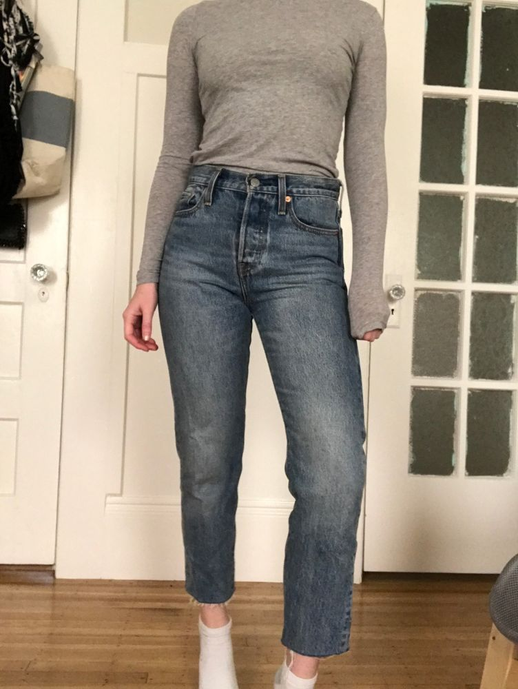 V by Very Ladies Blue Denim High Rise Bootcut Jeans BNWT