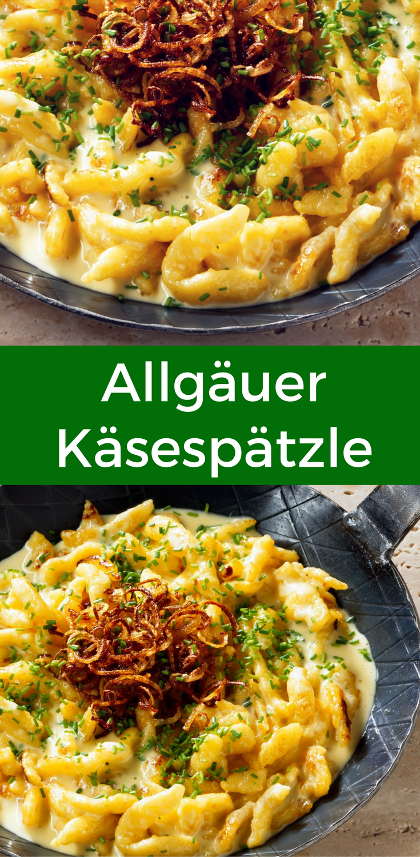 Photo of Homemade Allgäu cheese spaetzle