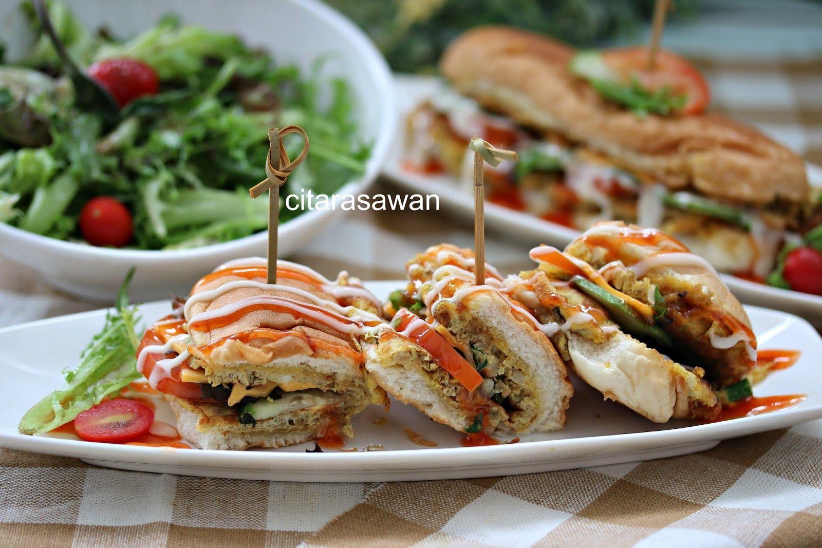 Roti John Resepi Terbaik Rotis Resep Makanan Makanan