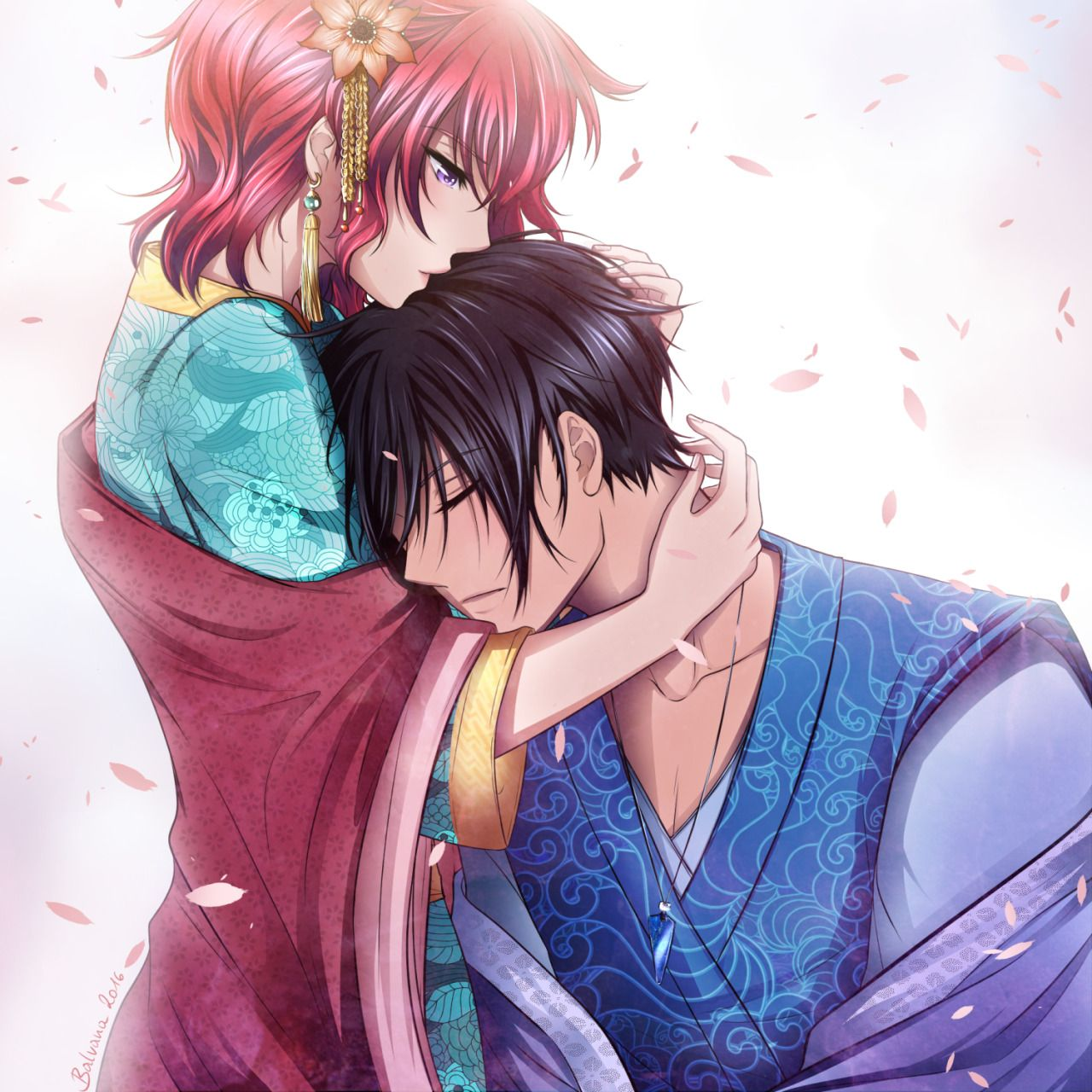 Yona and Hak Yona of the Dawn Fanart by balvana