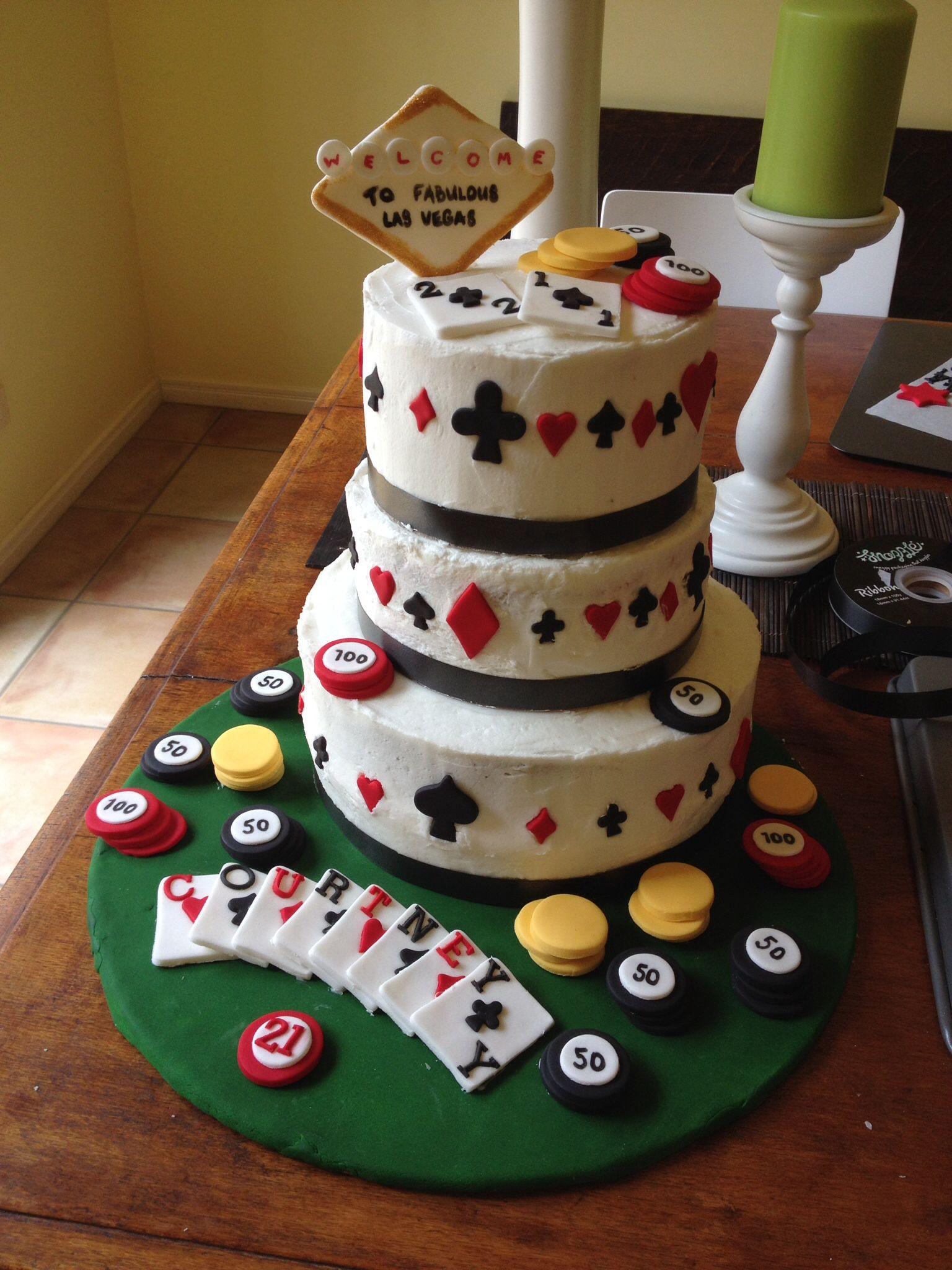 21st Las Vegas Cake. Chocolate, Red Velvet and Orange Cake ...