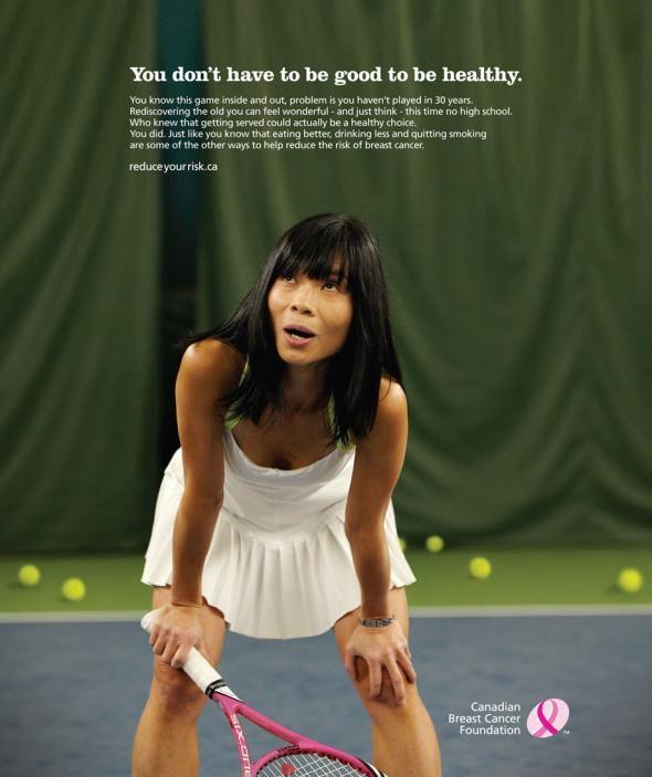 Canadian Breast Cancer Foundation: Tennis