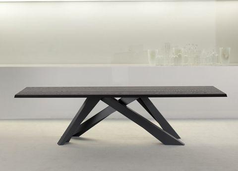 Big Table Bonaldo Allungabile.Bonaldo Big Table In Anthracite Grey Bonaldo Tables Dining