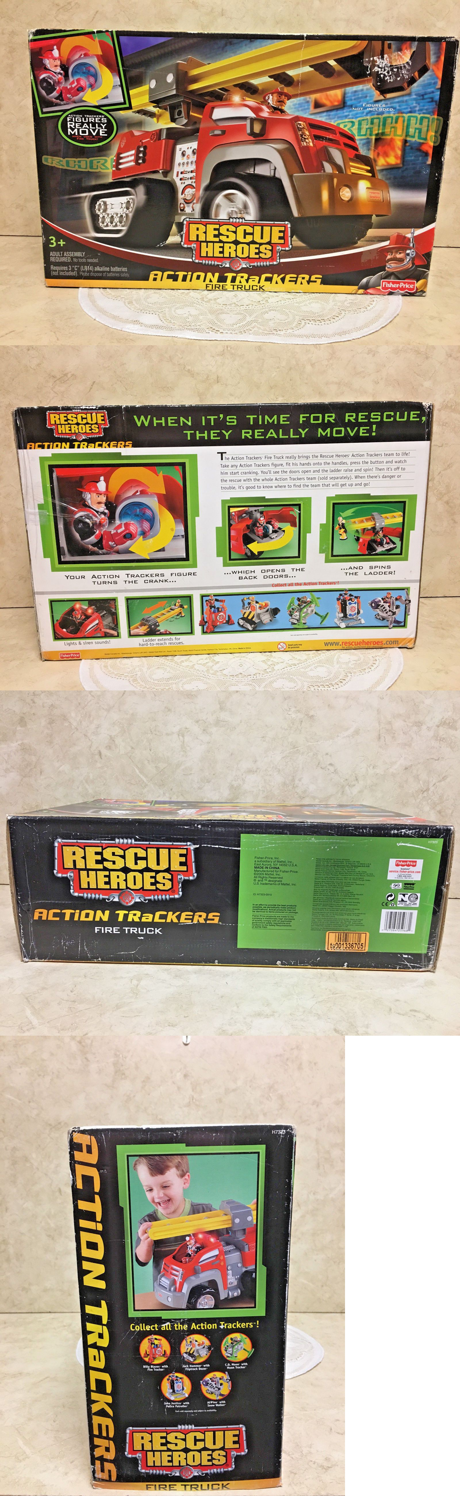 rescue heroes 50307 fisher price rescue heroes action trackers