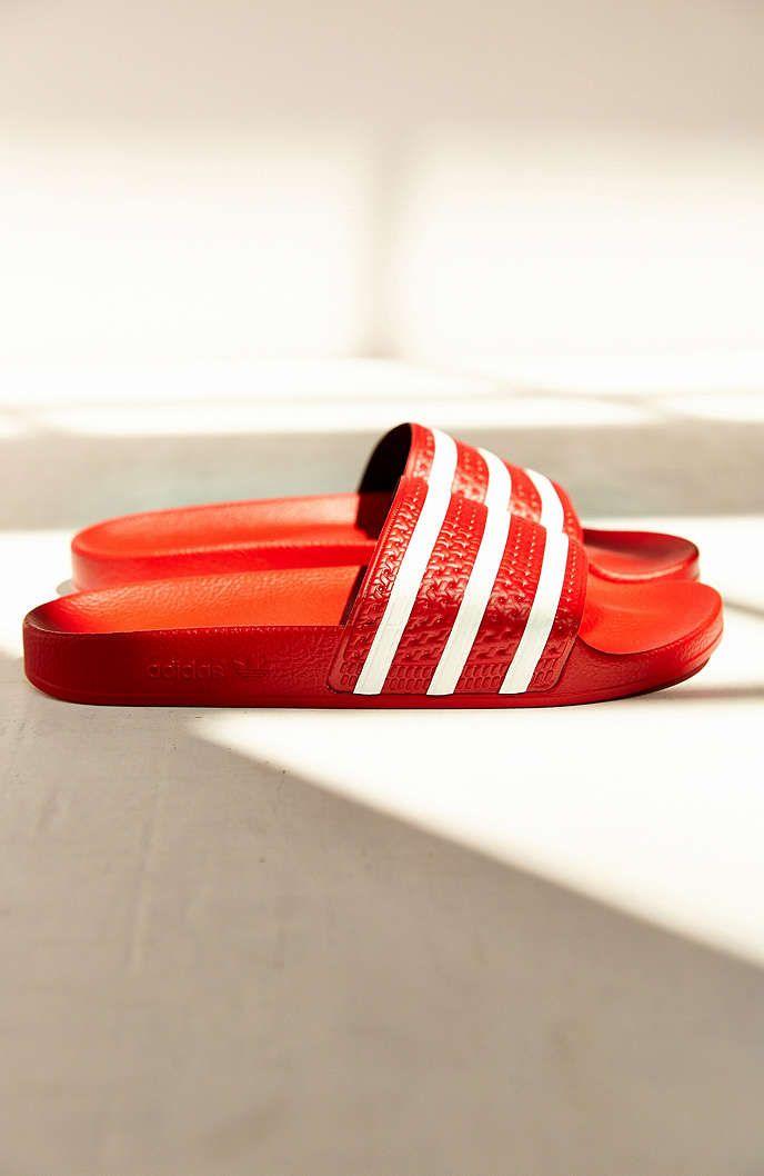 866cf997e adidas Originals Scarlet Adilette Pool Slide Womens Sandal - Urban  Outfitters