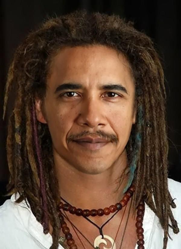 Resembles President Obama.                    Dreadlocks suit him too!