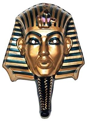 King Tut Plastic Mask Egyptian Mask Tutankhamun Mummy Egyptian Pharaohs