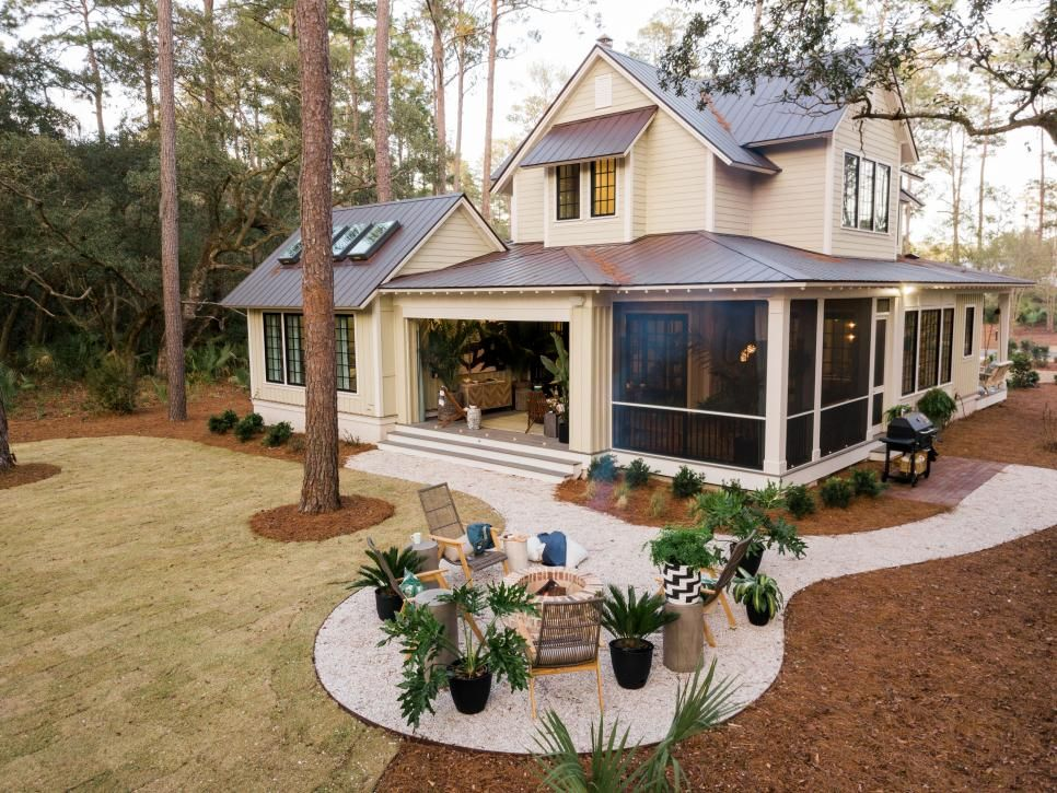 Pictures of the HGTV Smart Home 2018 Backyard Retirement House