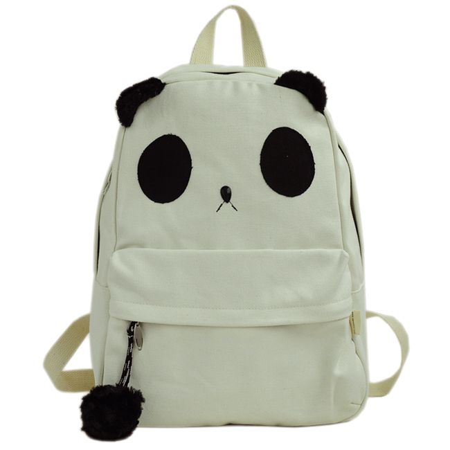 This cute backpack features (3) large compartments including a ...