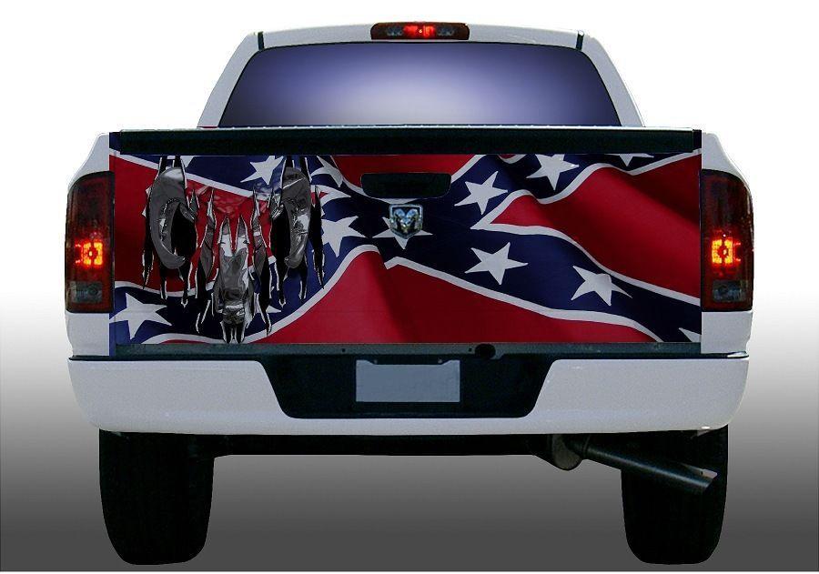 confederate flag truck wrap autos post. Black Bedroom Furniture Sets. Home Design Ideas