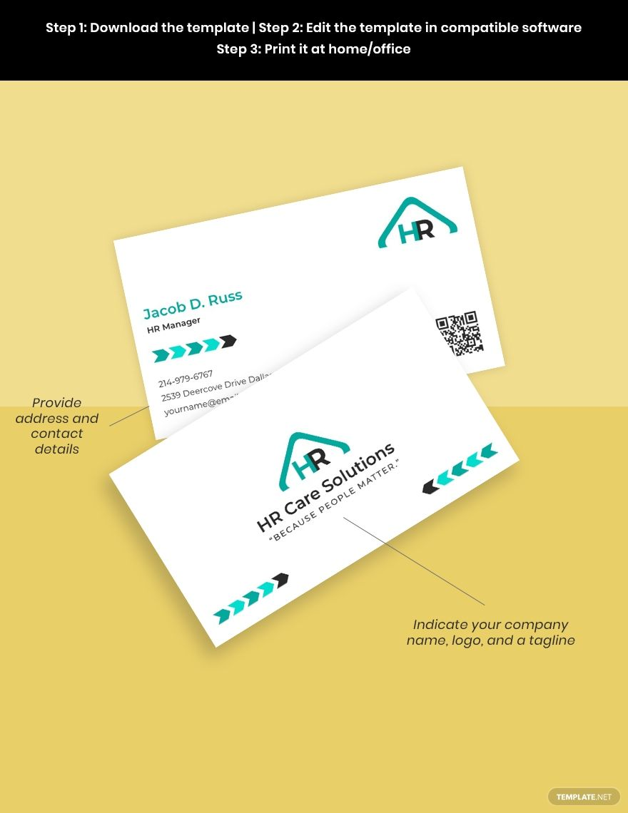 Hr Admin Business Card Template Ad Paid Admin Hr Business Template Card Business Card Template Word Business Card Template Card Template