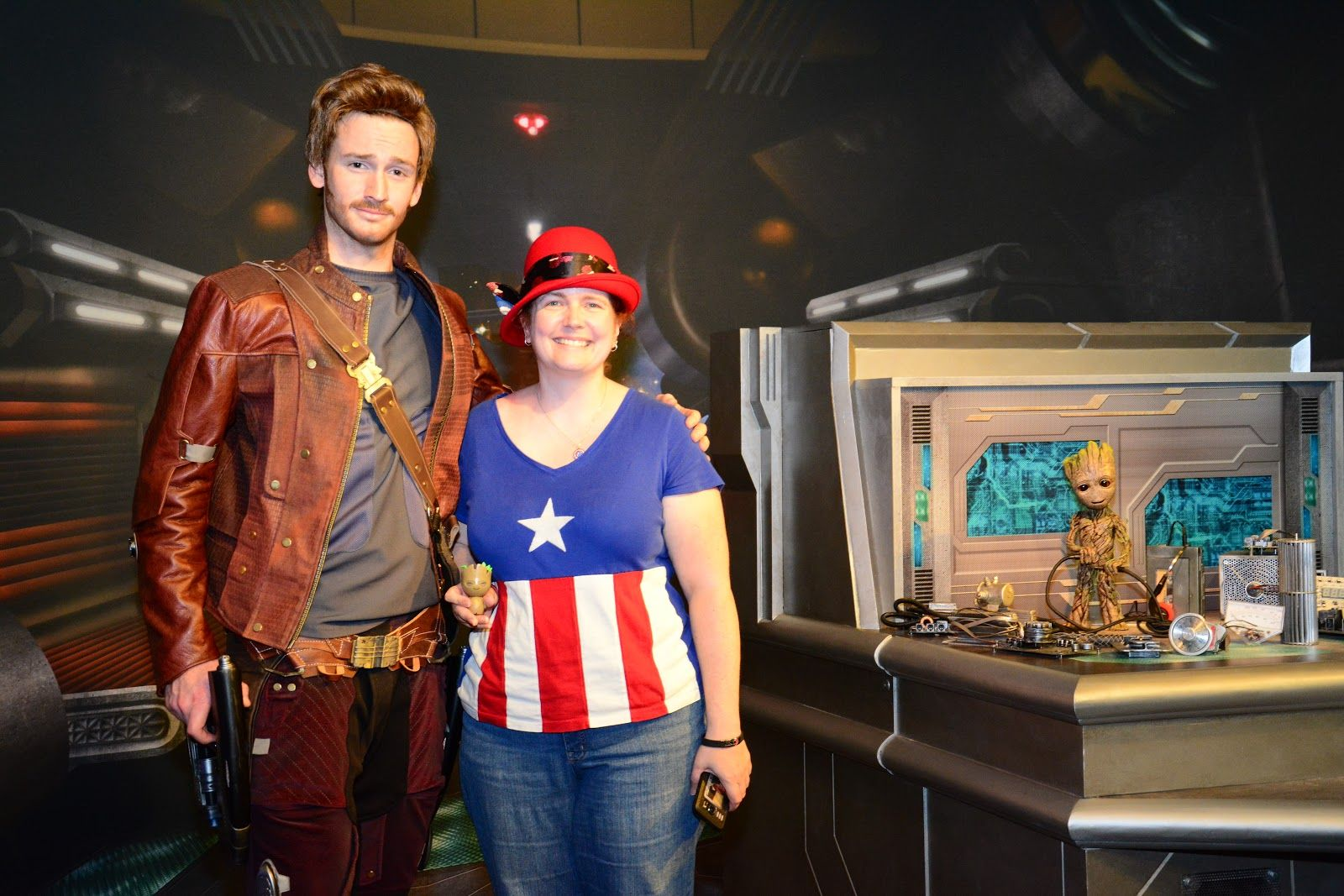 Star lord and baby groot meet and greet baby groot star lord and did you know that you can meet star lord and baby groot at disneys hollywood kristyandbryce Gallery