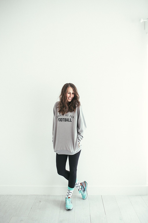 women casual sweatshirt