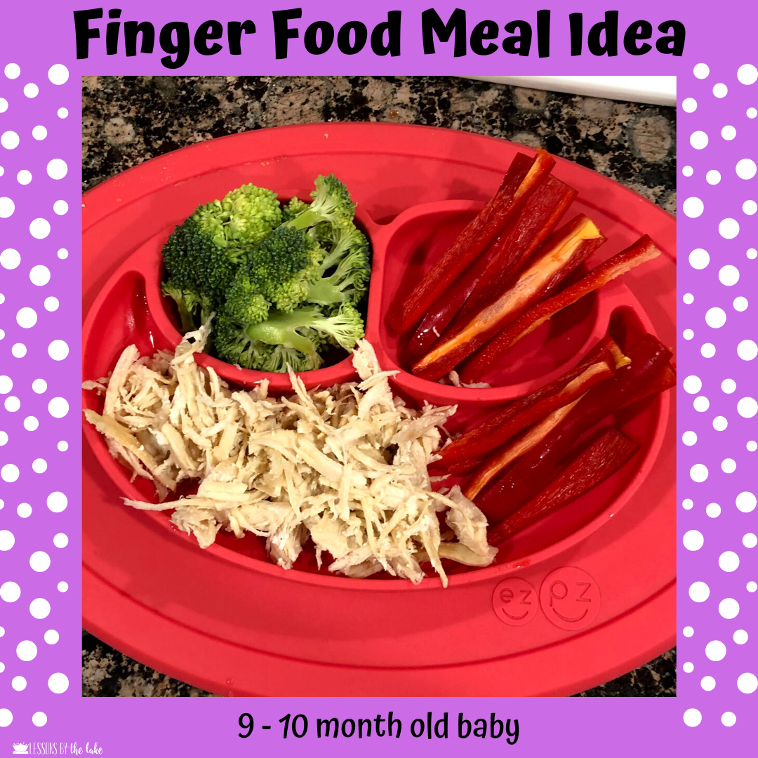9 Month Baby Meals Finger Food in 2020 | Baby food recipes ...