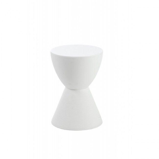 Sallie Stool White 90104 Blue Print Furniture