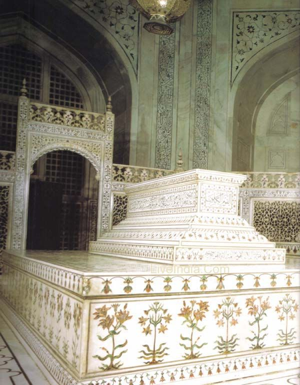 Taj Mahal Interior tomb Travel Taj Mahal Pinterest