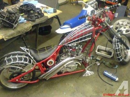 Mini Black Widow Chopper (Philadelphia) | Choppers