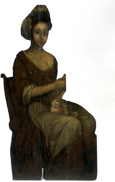 Young Woman Peeling Apples (Dummy board)   V Search the Collections
