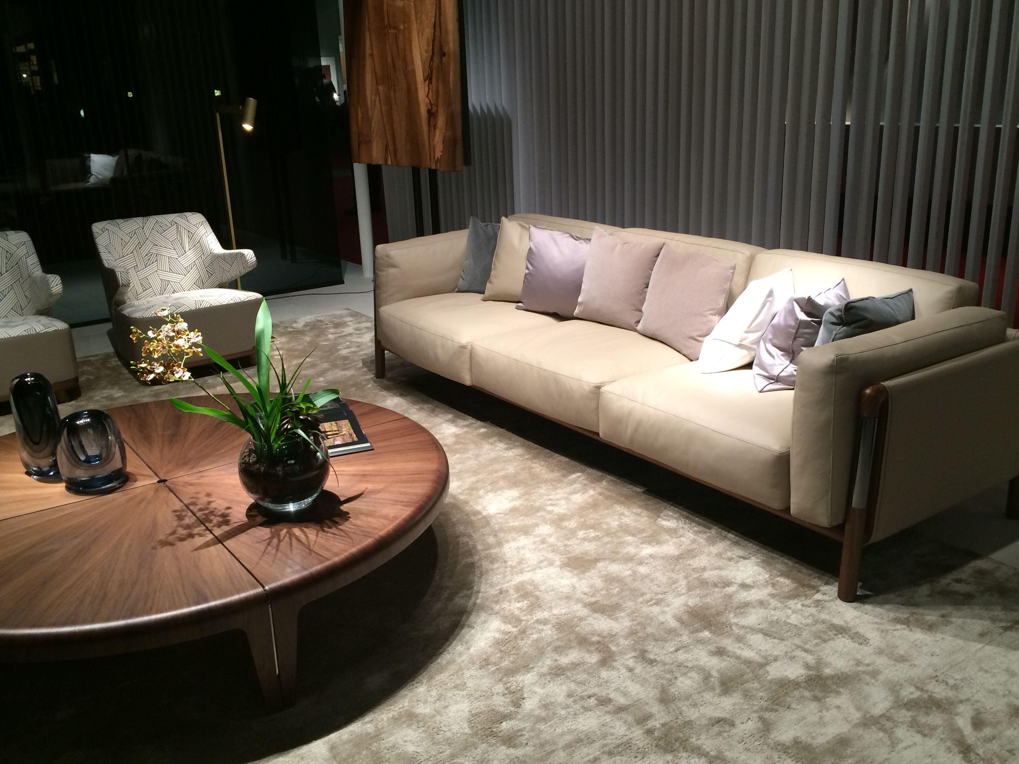 livingroom sofa wood leather design